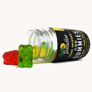 Paradise Island CBD Gummies 250 Bottle